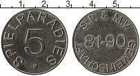 Изображение Монеты Германия Жетон 0 Медно-никель XF Spielparadies 5