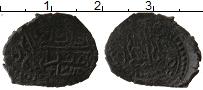 Изображение Монеты Россия Крым 1 мангир 1777 Медь VF
