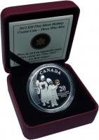 Изображение Подарочные монеты Канада 20 долларов 2012 Серебро Proof