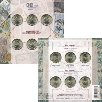 Изображение Подарочные монеты Чехия 20 крон 0 Латунь UNC
