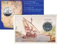 Изображение Подарочные монеты Португалия 100 эскудо 1987 Серебро UNC