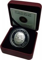 Изображение Подарочные монеты Канада 25 долларов 2013 Серебро Proof