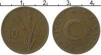 Изображение Монеты Турция 10 куруш 1959 Бронза VF