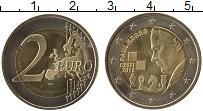 Продать Монеты Эстония 2 евро 2016 Биметалл