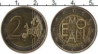 Изображение Монеты Словения 2 евро 2015 Биметалл UNC 2000 лет римскому по