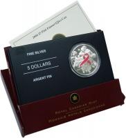 Изображение Подарочные монеты Канада 5 долларов 2006 Серебро Proof