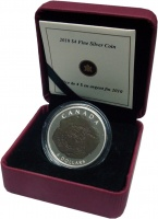 Изображение Подарочные монеты Канада 4 доллара 2010 Серебро Proof