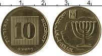 Изображение Монеты Израиль 10 агор 2012 Латунь UNC-