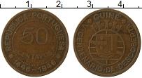 Изображение Монеты Гвинея-Бисау Португальская Гвинея 50 сентаво 1946 Бронза VF