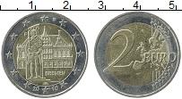 Изображение Монеты Германия 2 евро 2010 Биметалл UNC
