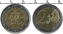 Продать Монеты Словакия 2 евро 2013 Биметалл