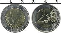 Продать Монеты Словения 2 евро 2008 Биметалл
