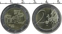 Изображение Монеты Мальта 2 евро 2016 Биметалл UNC Доисторические компл