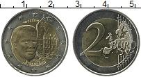 Продать Монеты Люксембург 2 евро 2008 Биметалл