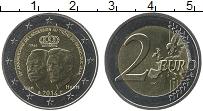 Продать Монеты Люксембург 2 евро 2014 Биметалл