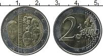 Изображение Монеты Люксембург 2 евро 2015 Биметалл UNC