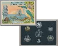 Изображение Подарочные монеты Новая Зеландия Набор 1993 года 1993  Proof