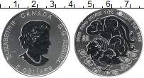 Изображение Монеты Канада 5 долларов 2017 Серебро UNC Елизавета II. Год Пе