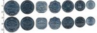 Изображение Наборы монет Бангладеш 5 така 2012 Медно-никель UNC-
