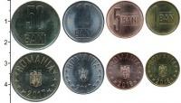 Изображение Наборы монет Румыния Набор 2016-2017 гг. 0  UNC В наборе 4 монеты но