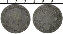 Изображение Монеты Австрия Австрийские Нидерланды 1/2 талера 1788 Серебро VF+