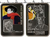 Изображение Монеты Ниуэ 1 доллар 2008 Серебро Proof-