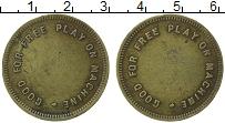 Изображение Монеты Великобритания Жетон 0 Латунь VF Жетон для автоматов