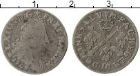Изображение Монеты Франция 1/16 экю 1704 Серебро VF