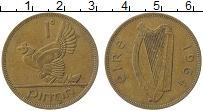 Изображение Монеты Ирландия 1 пенни 1964 Медь XF