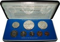 Изображение Подарочные монеты Соломоновы острова Набор 1979 года 1979  Proof