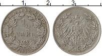 Изображение Монеты Германия 1/2 марки 1912 Серебро XF E