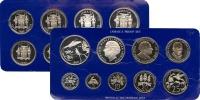 Изображение Подарочные монеты Ямайка Выпуск 1980 года 1980  Proof Подарочный набор пос