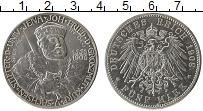 Продать Монеты Саксен-Веймар-Эйзенах 5 марок 1908 Серебро