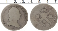 Изображение Монеты Австрия Австрийские Нидерланды 1/2 талера 1769 Серебро VF