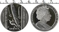 Изображение Монеты Остров Мэн 1 крона 2003 Серебро Proof Елизавета II. XXVIII