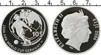 Изображение Монеты Фиджи 10 долларов 2006 Серебро Proof