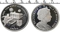 Изображение Монеты Остров Мэн 1 крона 2005 Серебро Proof