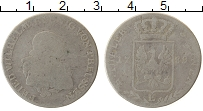 Изображение Монеты Пруссия 1/3 талера 1789 Серебро VF Е Фридрих Вильгельм