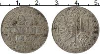Изображение Монеты Женева 25 сантим 1839 Серебро XF