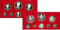 Изображение Подарочные монеты Каймановы острова Выпуск 1979 года 1979  Proof