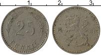 Изображение Монеты Финляндия 25 пенни 1921 Медно-никель XF