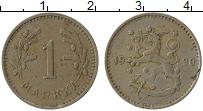 Изображение Монеты Финляндия 1 марка 1930 Медно-никель XF