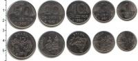 Изображение Наборы монет Бразилия Бразилия 1980-1985 0 Медно-никель UNC