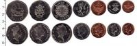Изображение Наборы монет Соломоновы острова 50 пенсов 0  UNC