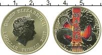 Продать Монеты Тувалу 1 доллар 2017 Серебро