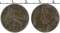 Изображение Монеты Италия 20 чентезимо 1913 Медно-никель VF