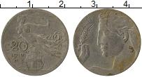 Изображение Монеты Италия 20 чентезимо 1910 Медно-никель VF