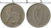 Изображение Монеты Ирландия 3 пенса 1942 Медно-никель VF