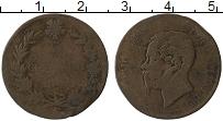 Изображение Монеты Италия 5 чентезимо 1862 Бронза VF