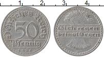 Изображение Монеты Веймарская республика 50 пфеннигов 1920 Алюминий XF